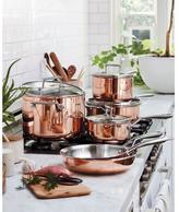 KitchenAid Tri-Ply Copper 10-Piece Cookware Set