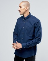 Barbour Oxford Shirt In Tailored Slim Fit Blue