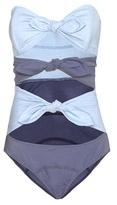 Lisa Marie Fernandez Triple Poppy Denim Swimsuit