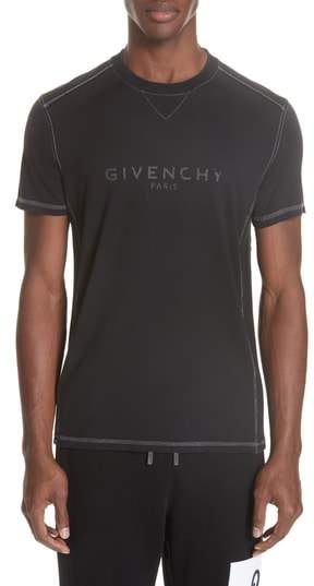 Givenchy Washed Out Logo T-Shirt