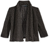 Sequin Hearts Knit Cardigan, Big Girls (7-16)