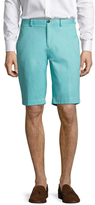 Brooks Brothers Solid Stretch Cotton Bermuda Shorts