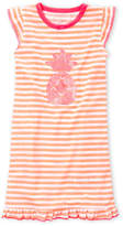 Jessica Simpson Girls 7-16) Stripe Pineapple Nightgown