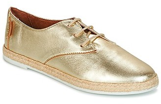 Pare Gabia ROSELINE women's Shoes (Trainers) in Gold