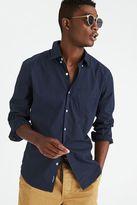 American Eagle Outfitters AE Micro Dot Poplin Shirt