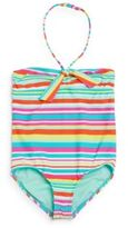 Roxy Toddler's One-Piece Striped Swimsuit