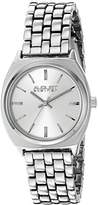 August Steiner Women's AS8186SS Silver Quartz Watch with Silver Dial and Silver Bracelet