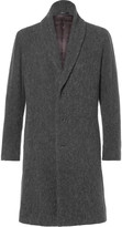Issey Miyake Men - Shawl-collar Wool-blend Bouclé Coat