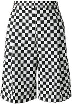 Givenchy checkered print shorts - men - Polyamide/Cupro - 46