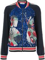 Leonard embellished bomber jacket