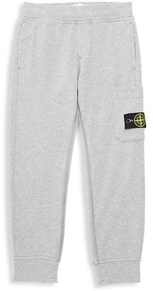 Stone Island Little Boy's & Boy's Fleece Pants