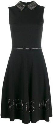 John Richmond stud-embellished sleeveless dress