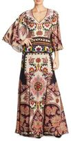 Etro Paisley Printed Gown