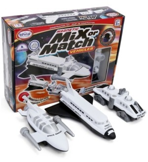 Popular Playthings Magnetic Mix or Match Vehicles- Space