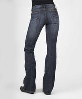Stetson Blue Denim Dark Wash Bootcut Jeans - Women & Plus