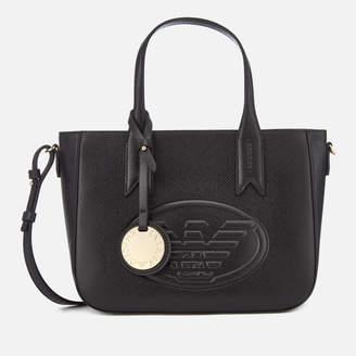 Emporio Armani Women's Frida Small Eagle Tote Bag