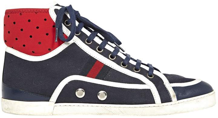 Gucci Cloth high trainers