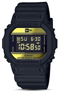 G-Shock Limited Edition Black & Gold Watch, 42.8mm