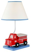 Nobrand No Brand Fire Truck Lamp With 7W Nightlight - Blue/ Red