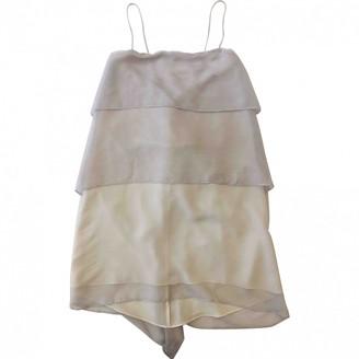 Mason Grey Silk Dress for Women