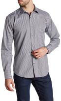 Bugatchi Micro Check Shaped Fit Shirt