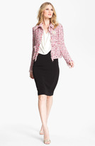 St. John Collection Tweed Crop Jacket