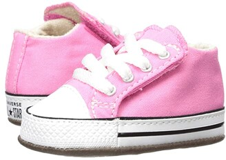 Converse Chuck Taylor(r) All-Star(r) Cribster Gravity Graphic - Mid (Infant/Toddler) (Pink/Natural Ivory/White) Girls Shoes