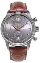 Alpina Men's 42mm Brown Leather Band Steel Case Automatic Watch Al-750vg4e6