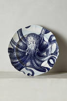 Anthropologie From The Deep Side Plate, Octopus