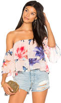 Yumi Kim Double Trouble Top in Pink. - size L (also in M)
