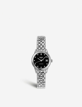 Longines L4.274.4.57.6 stainless steel and diamond watch