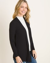 Chico's Chicos Long-Sleeve Ribbed Cardigan