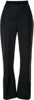 Eudon Choi High Rise Flared Trousers