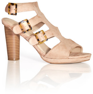 City Chic Bria Heel - beige