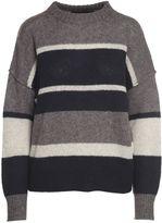 360 Sweater Abbagail Striped Cashmere Sweater