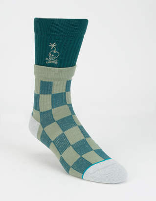 Stance Stacked Palm Mens Crew Socks