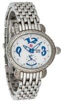 Michele Diamond CSX Blue Watch