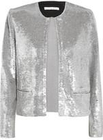 IRO Omana Sequined Tulle Jacket - FR36