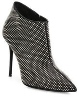 Giuseppe Zanotti Studded Patent Leather Point-Toe Booties