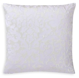 Charisma Medici Damask Embroidered Decorative Pillow, 20 x 20