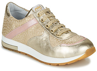 GBB LELIA girls's Shoes (Trainers) in Beige