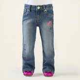Children's Place Heart shine jeans