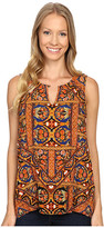 Lucky Brand Sleeveless Printed Shell Top