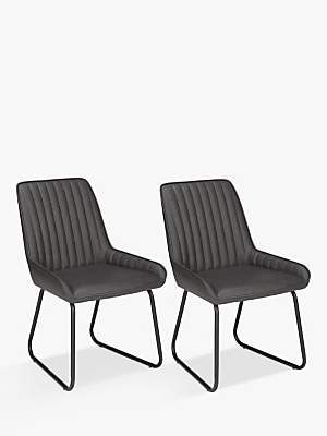 John Lewis & Partners Brooks Side Dining Chairs, Set of 2