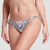 Xhilaration Women's Cheeky String Bikini Bottom