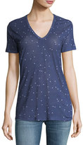 Rails Cara V-Neck Star-Print Tee