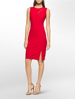 Calvin Klein Cut-Out Neck Sheath Dress