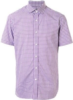 Kent & Curwen Gingham Check Shortsleeve Shirt