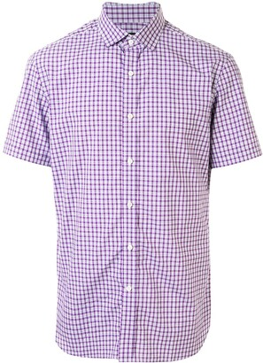 Kent & Curwen Plaid Print Shirt