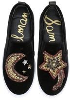 Sam Edelman Women's Leila Embellished Platform Sneaker